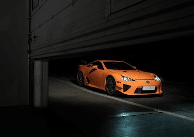 2014 Lexus LFA orange