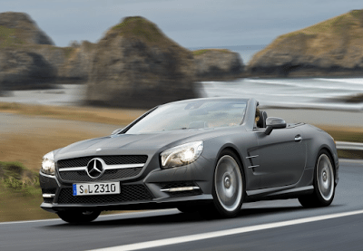 2013 Mercedes-Benz SL-Class grey