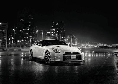 2015 Nissan GT-R white skyline