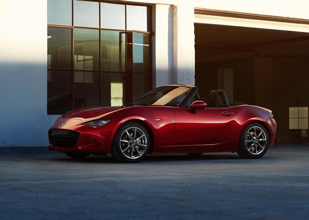2016 Mazda Mx 5 Miata Red