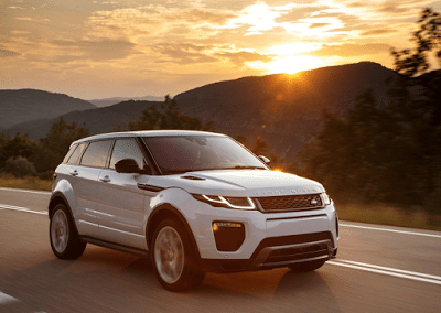 2016 Land Rover Range Rover Evoque white