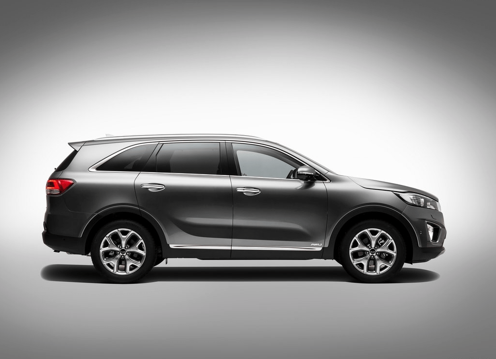 2016 Kia Sorento grey profile