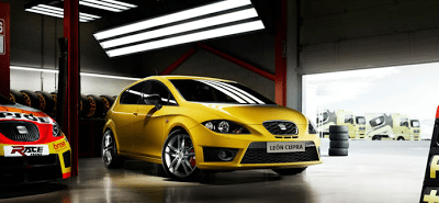 2011 Seat Leon Cupra Yellow