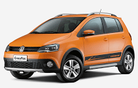 2011 Volkswagen CrossFox Orange