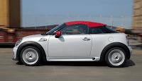 2012 Mini Coupe White Profile