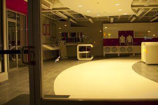 Empty Steele Fiat Showroom
