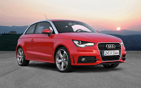 2011 Audi A1 red