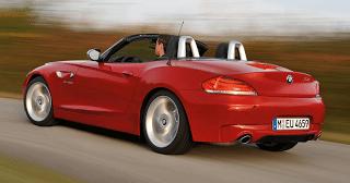 2011 BMW Z4 red