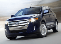 2011 Ford Edge Blue