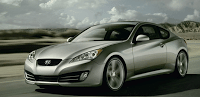 2011 Hyundai Genesis Coupe Grey