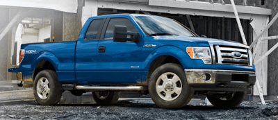 2011 Ford F-150 SuperCab 4x4 Blue