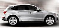 2012 Audi Q5 Silver Profile