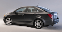 2012 Chevrolet Sonic Sedan Black