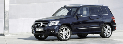 2010 Mercedes-Benz GLK350 4Matic Navy Blue