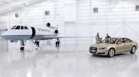 2011 Audi A8 With Private Jet