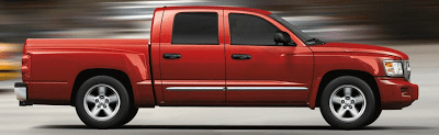 2011 Dodge Dakota Crew Cab Red