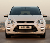 2011 Ford S-Max White Front End