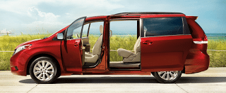 2011 Toyota Sienna LE V6 AWD Salsa Red Pearl