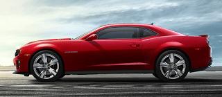 2012 Chevrolet Camaro ZL1 red