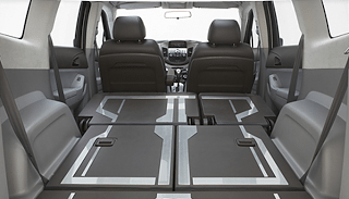 2012 Chevrolet Orlando Cargo Area Seats Folded