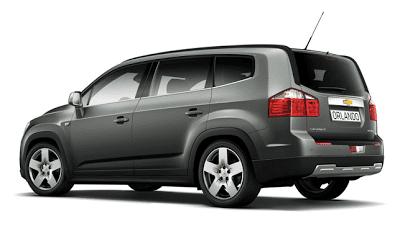 2012 Chevrolet Orlando Grey