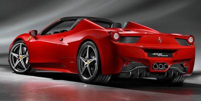 2012 Ferrari 458 Spider Red