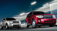2012 Ford Escape Red Silver