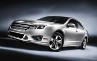 2012 Ford Fusion grey