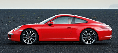 2012 Porsche 911 Carrera 991 Profile Red