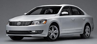 2012 Volkswagen Passat grey