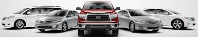 2011 Toyota Model Lineup