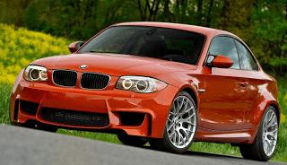 2011 BMW 1-Series M Orange
