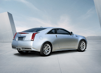 2011 Cadillac CTS Coupe Silver