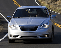 2012 Chrysler 200 Front End Silver