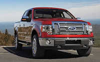 2011 Ford F-150 Red