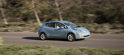 2011 Nissan LEAF Blue
