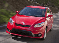 2011 Toyota Matrix Red