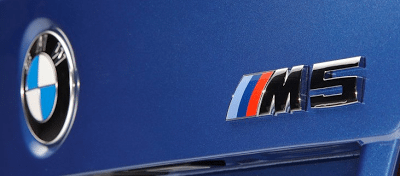 2012 BMW M5 Logo