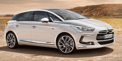 2012 Citroen DS5 White