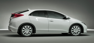 2012 Honda Civic EU Version White Profile