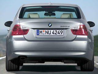 2006 BMW 3-Series Rear