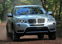 2011 BMW X3 Front End