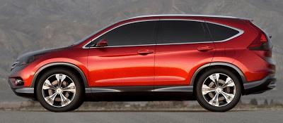 2011 Honda CR-V Concept Profile