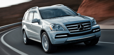 2011 Mercedes-Benz GL550 4Matic Iridium Silver