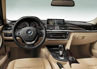 2013 BMW 3-Series Interior