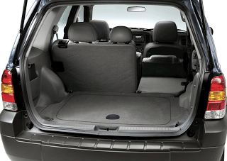 2006 Ford Escape Cargo Area