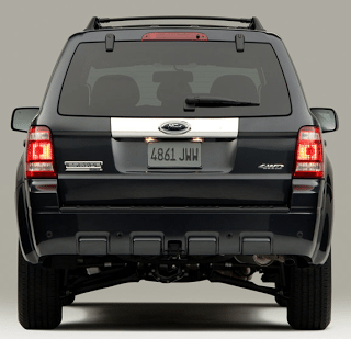 2008 Ford Escape Rear