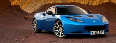 2011 Lotus Evora S Blue