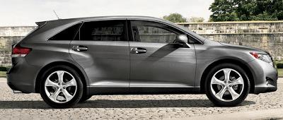 2011 Toyota Venza V6 AWD Magnetic Grey Metallic