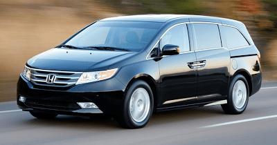 2012 Honda Odyssey Black
